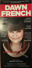 DAWN FRENCH THIRTY MILLION MINUTES MELBOURNE TICKETS x2 Croydon Maroondah Area Preview