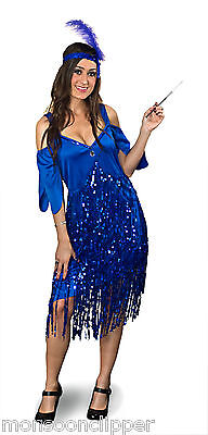 Halloween Party 1920's Costume Flapper Glitter Sequin Plus Size Full - Flapper Halloween Costume Plus Size
