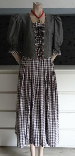 German Austrian  Traditional Trachten Style Dress 8