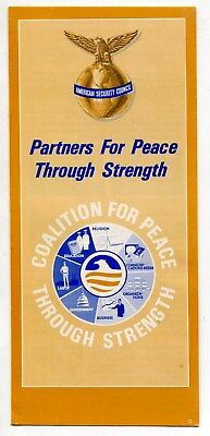 1970S Brochure   American Security Council   Partners For Peace Through Strength