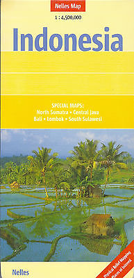 Map of Indonesia, by Nelles Map