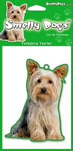 Yorkshire Terrier Fragrant Air Freshener - Perfect Gift