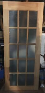 New 32 x 80 French door