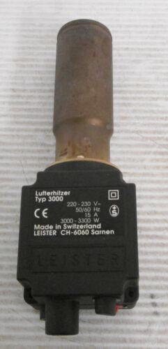 Leister CH-6060 Type 3000 Air Heater 220-230VAC 50/60Hz 15A 3000-3300W