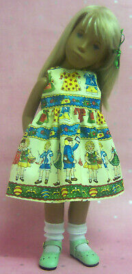 Sasha Dolls - Paper Doll Dress - The Doll Works
