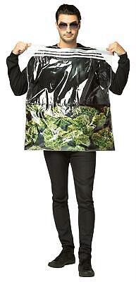 T LEAF GANJA MON MARIJUANA FUN HALLOWEEN COSTUME GC6940 (Weed Leaf Kostüm)