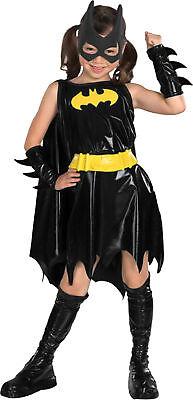 Batman Dark Knight Cowl Mask Batgirl Child Costume Superheroes Hero Theme Party ()