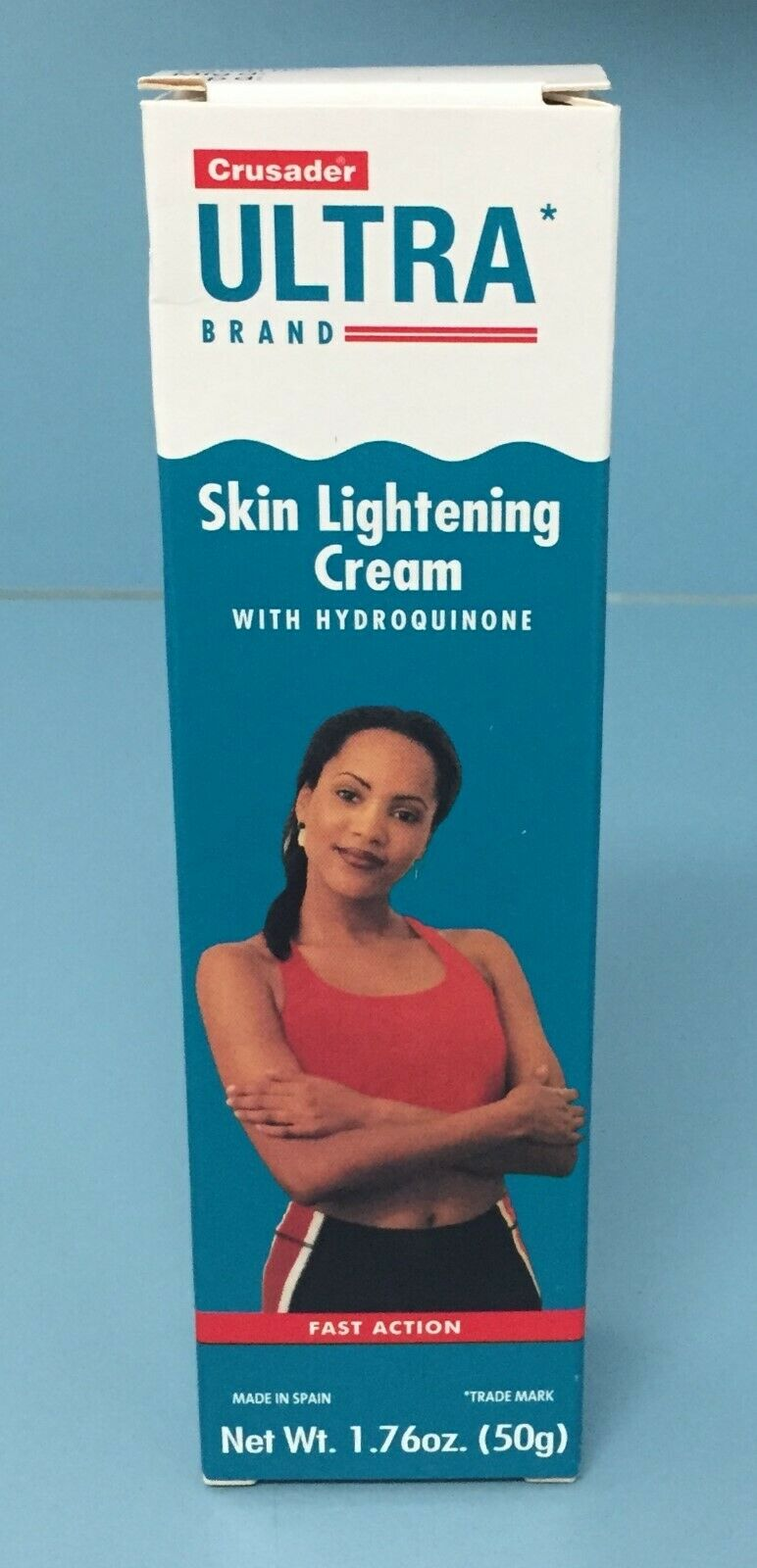 Crusader Ultra Skin Lightening Cream with Hydroquinone, 1.76