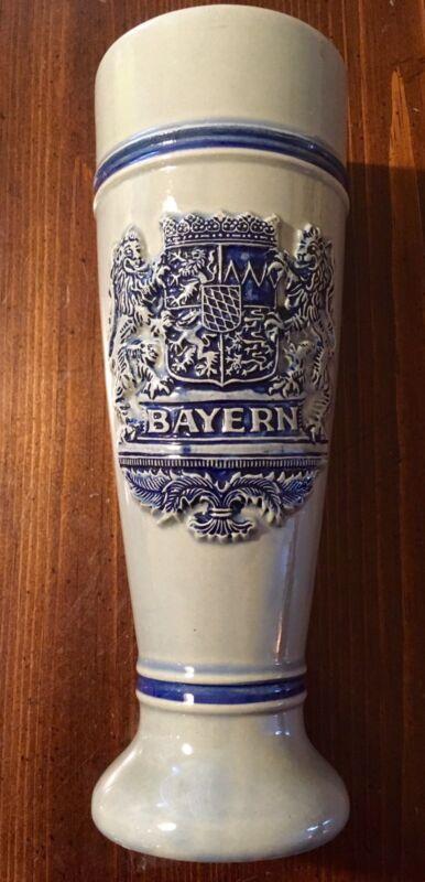 BAYERN CRESTED CERAMIC STEIN