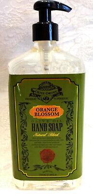 Home & Body Co ORANGE BLOSSOM Hand Soap w/ OLIVE OIL ~ DENTED BOTTLE 24 -