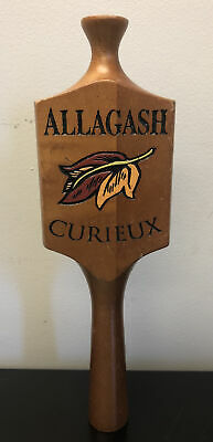 """Allagash Curieux Wood Beer Tap Handle Mancave Draft Nice 10.75"""""""