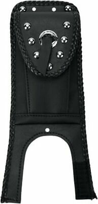 Mustang 93311 Studded Tank Bib w/ Pouch for Harley FXST FLST Softail 00-17