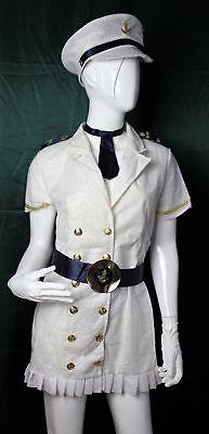 Kostüm Marine Costume - mit Glitter weiblich von Folawear Größe S/M Weibliche Marine