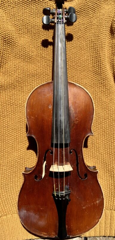 Antique French Or German Violin