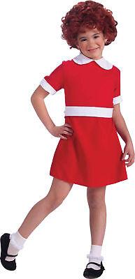 Annie Kleid Kostüm (Annie Kinder Kostüm Mädchen Rotes Kleid Broadway Musikalisch Film)