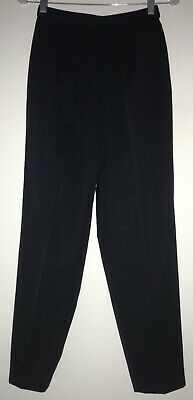 VTG GUCCI HIGH WAIST WOOL DRESS PANTS in NAVY BLUE size 42