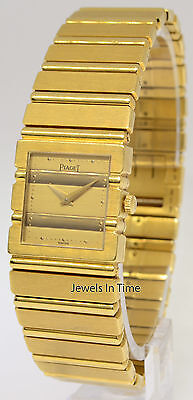 Piaget Polo 18k Yellow Gold Ladies Quartz Watch 8131 C701