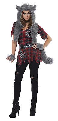 She-Wolf Howling Adult Women Costume - Women Wolf Costume