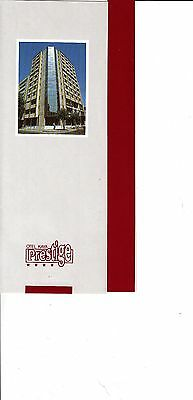Otel Kaya Prestige Izmir Turkey Hotel Vintage Brochure