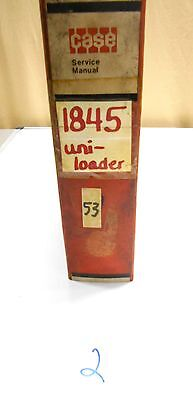 Case 1845 Uni Loader Skid Steer Service Repair Shop Manual 9-73926 Rev 1076