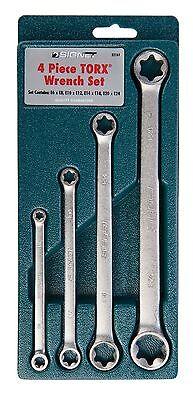 Signet Tools 4 Piece E-Torx Spanner Set Torx E6 - E24 S32161 4 Piece E-torx Wrench