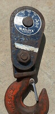 Mckissick 4 Ton Snatch Block With Hook N418 4ton Pulley Block