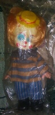 Vintage Bobo The  Clown Nos Deadstock New In Package