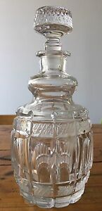 Vintage crystal wine decanter Pyrmont Inner Sydney Preview