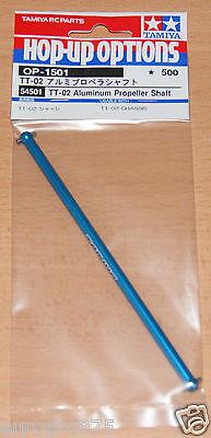 Tamiya 54501 TT-02 Aluminum Propeller Shaft (TT02/TT02B/TT02D/TT02T), NIP