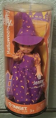 Halloween Party Jenny Witch Costume Kelly Club Barbie NRFB 2003 HTF Rare Purple](Jenny Halloween Costume)