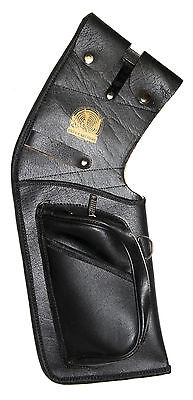 """EFA 4 Arrow Horsehide Leather /""""Half Breed/"""" Bow Quiver for Longbow or Recurve"""