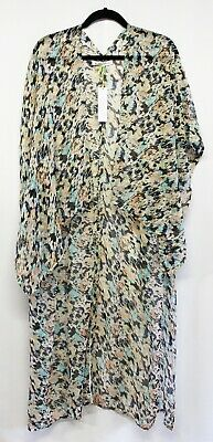 New BCBGeneration Fun in The Sun High-Low Kimono Cover-Up