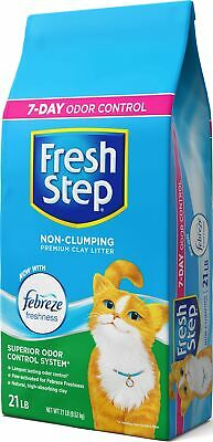 Fresh Step Extreme Clay, Non Clumping Cat Litter, Scented, 2