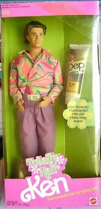totally hair styling totally hair ken 1991 dep styling gel incl ebay 5304