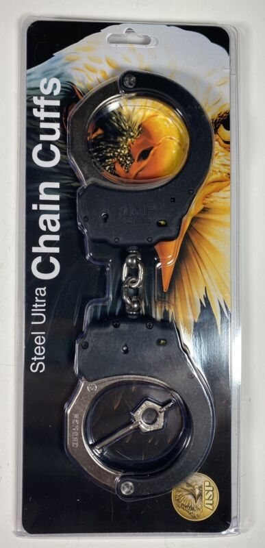 ASP Ultra Chain Cuffs Standard Size with Steel Swinging Bows & Key 56109