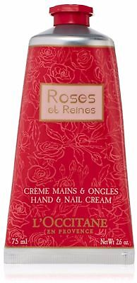 Roses et Reines Hand & Nail Cream by L'occitane for Women -