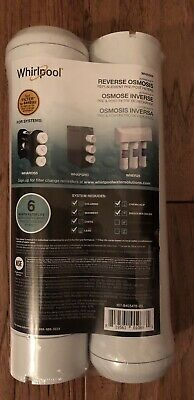 - Whirlpool Ultraease Reverse Osmosis Replacement Pre/post Filters