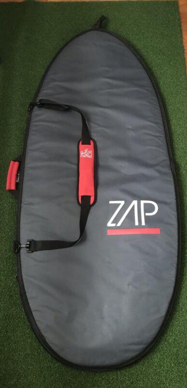 "58"" ZAP MediumPadded Skimboard Bag w/ handle, shoulder strap, & inner pocket"