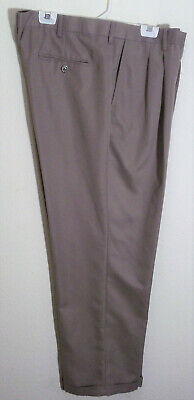 Microfiber Portfolio (khaki comfort waist microfiber dress pants by Perry Ellis Portfolio size 40 x 30 )