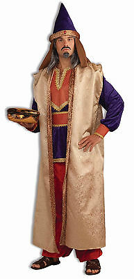 Adult Garnet  Wiseman Costume 3 Kings Biblical Nativity Christmas Adult Size - 3 Kings Costumes