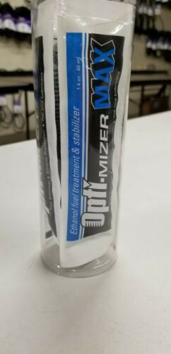 Opti-Mizer MAX 6 pack 1.4 oz Pouches Ethanol Fuel Treatment w Stabilizer 60612