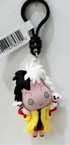 Disney 101 Dalmatians Figural Bag Clip Series 32 Keychain - Cruella De Vil