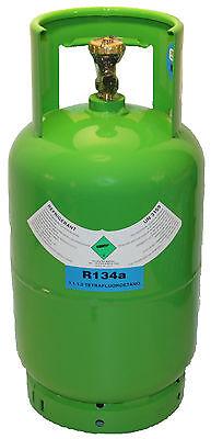 Kältemittel R134a 12kg Füllgewicht Neu befüllt Mehrwegflasche pfandfrei GAS