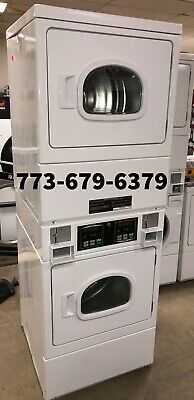 Speed Queen Commercial Stack Gas Dryer Coin Operated. New 2021