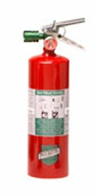 Buckeye 70258 Halotron Fire Extinguisher With Aluminum Valve Wall Hook