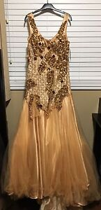 New with TAGs Gold Dress