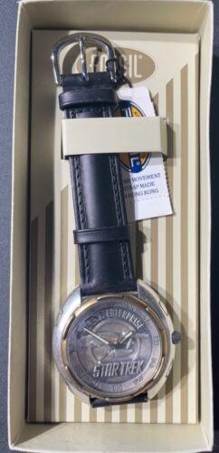 Fossil Star Trek USS Enterprise LI-1407 Watch 9396/ 15,000 NEW