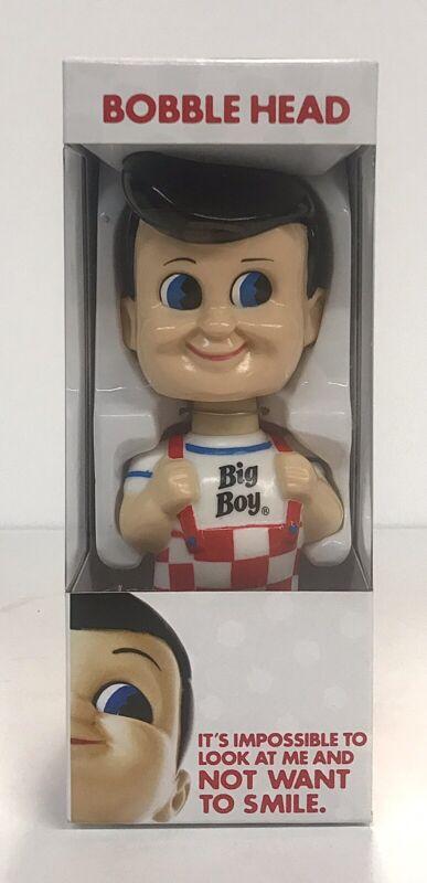 "2015 Big Boy Bobble Head Big Boy Restaurants History Story 7"" Smiling NIB"