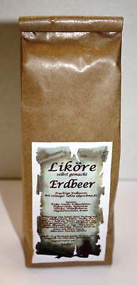 Erdbeer Likör Ansatz 180 g fruchtig selber machen 1kg/27,22€ Tee-Meyer g1