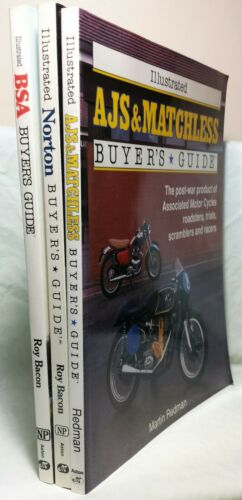3 British Post WWII Motorcycle Buyer